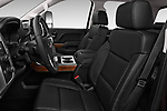 Front seat view of a 2018 GMC Sierra 2500HD 2WD Crew Cab Standard Box SLT 4 Door Pick Up front seat car photos