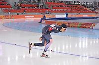 OLYMPICS: SOCHI: Adler Arena, 09-02-2014, 3000 m Ladies, Shin-Young Yang (KOR), ©foto Martin de Jong
