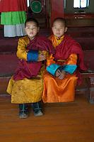 Monks at Gandantegchinlen Monastery