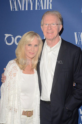 LOS ANGELES, CA - JULY 17: (L-R) Rachelle Carson and Ed Begley Jr. attend Oceana And The Walden Woods Project Present: Rock Under The Stars With Don Henley And Friends at Private Residence on July 17, 2017 in Los Angeles, California. Credit: David Edwards/MediaPunch