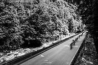 peloton<br /> <br /> Stage 5: Grenoble &gt; Valmorel (130km)<br /> 70th Crit&eacute;rium du Dauphin&eacute; 2018 (2.UWT)