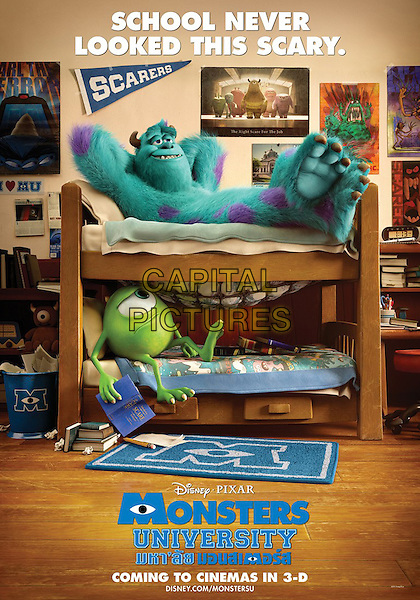 POSTER ART<br /> in Monsters University (2013) <br /> *Filmstill - Editorial Use Only*<br /> CAP/FB<br /> Image supplied by Capital Pictures