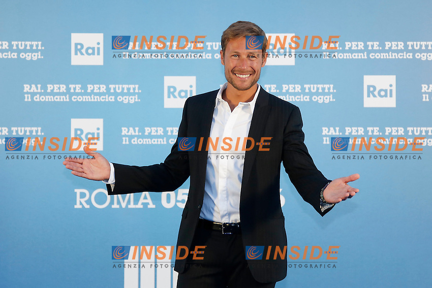 Massimiliano Ossini  <br /> Roma 05-07-2016 Salone delle Fontane. Presentazione dei palinsesti RAI per l'autunno 2016.<br /> Photo Samantha Zucchi Insidefoto