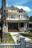 Historic Burroughs Home, circa 1901. Open to the public. Fort Myers, Florida.