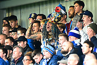 Portsmouth fans show their support<br /> <br /> Photographer Richard Martin-Roberts/CameraSport<br /> <br /> The EFL Sky Bet League One - Fleetwood Town v Portsmouth - Saturday 29th December 2018 - Highbury Stadium - Fleetwood<br /> <br /> World Copyright &not;&copy; 2018 CameraSport. All rights reserved. 43 Linden Ave. Countesthorpe. Leicester. England. LE8 5PG - Tel: +44 (0) 116 277 4147 - admin@camerasport.com - www.camerasport.com