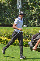 Rafael Cabrera Bello (ESP) trots off the number 2 tee during round 3 of the World Golf Championships, Mexico, Club De Golf Chapultepec, Mexico City, Mexico. 3/3/2018.<br /> Picture: Golffile | Ken Murray<br /> <br /> <br /> All photo usage must carry mandatory copyright credit (&copy; Golffile | Ken Murray)