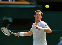 England, London, 28.06.2014. Tennis, Wimbledon, AELTC, Andy Murray (GBR)<br /> Photo: Tennisimages/Henk Koster