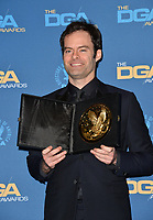 LOS ANGELES, CA. February 02, 2019: Bill Hader at the 71st Annual Directors Guild of America Awards at the Ray Dolby Ballroom.<br /> Picture: Paul Smith/Featureflash
