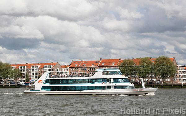 Nederland  Rotterdam - 2017.  Spido rondvaart op de Maas. Het Noordereiland.   Foto Berlinda van Dam / Hollandse Hoogte