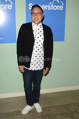LOS ANGELES, CA - JUNE 07: Nico Santos at FYC at UCB for NBC's 'Superstore' at UCB Sunset Theater on June 7, 2016 in Los Angeles, California. Credit: David Edwards/MediaPunch