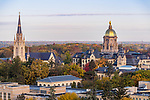 BJ 11.7.17 Golden Dome 11768.JPG by Barbara Johnston/University of Notre Dame