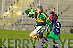 Kieran Donaghy Kerry v Noel Brady Limerick Institute Technology in the Quarter Final of the McGrath Cup at Austin Stack Park, Tralee on Sunday 16th January.
