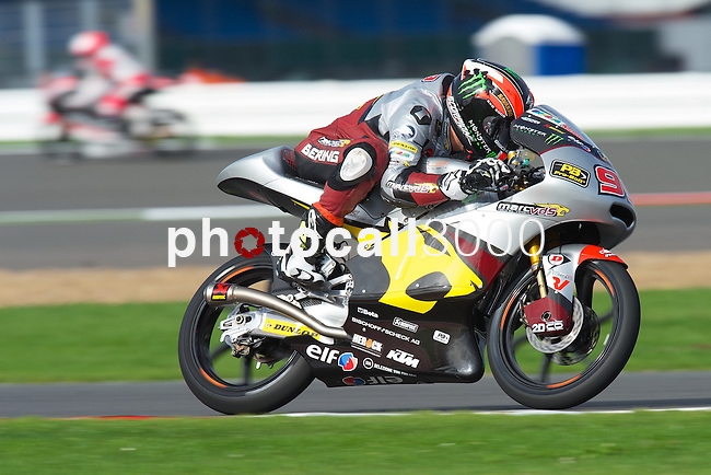 hertz british grand prix during the world championship 2014.<br /> Silverstone, england<br /> August 28, 2014. <br /> FP Moto3<br /> alejandro navarro<br /> PHOTOCALL3000/ RME