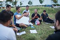 2015/08/31 Sachsen | Heidenau | Flüchtlinge