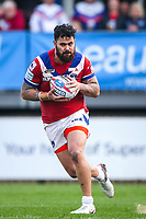 Picture by Alex Whitehead/SWpix.com - 12/03/2017 - Rugby League - Betfred Super League - Wakefield Trinity v Salford Red Devils - Beaumont Legal Stadium, Wakefield, England - Wakefield's David Fifita