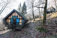 Villaggio Bosco della Bella, Fornasette, Ponte Cremenaga, Arch. Justus Dahinden