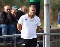 Trainer Arndt Hornicek (Büttelborn) - Büttelborn 03.10.2018: SKV Büttelborn vs. SV Bürstadt