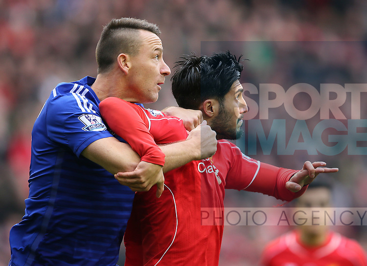 John Terry of Chelsea  - Barclays Premier League - Liverpool vs Chelsea - Anfield Stadium - Liverpool - England - 8th November 2014  - Picture Simon Bellis/Sportimage