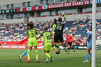 Bridgeview, IL - Sunday June 04, 2017: Haley Kopmeyer during a regular season National Women's Soccer League (NWSL) match between the Chicago Red Stars and the Seattle Reign FC at Toyota Park. The Red Stars won 1-0.