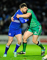 19 December 2014; Guinness Pro12 2014/15, <br /> Leinster's Rob Kearney is tackled by Tom McCartney of Connacht.<br /> Leinster v Connacht, RDS, Ballsbridge, Dublin. Picture credit: Tommy Grealy/actionshots.ie