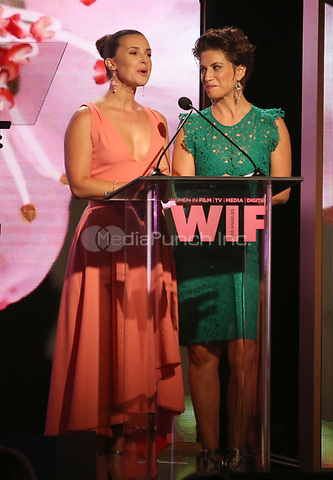 BEVERLY HILLS, CA June 13- Guests, at Women In Film 2017 Crystal + Lucy Awards presented by Max Mara and BMW_Show at The Beverly Hilton Hotel, California on June 13, 2017. Credit: Faye Sadou/MediaPunch