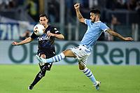 Matteo Darmian of Parma , Luis Alberto of SS Lazio <br /> Roma 22-9-2019 Stadio Olimpico <br /> Football Serie A 2019/2020 <br /> SS Lazio - Parma Calcio <br /> Foto Andrea Staccioli / Insidefoto