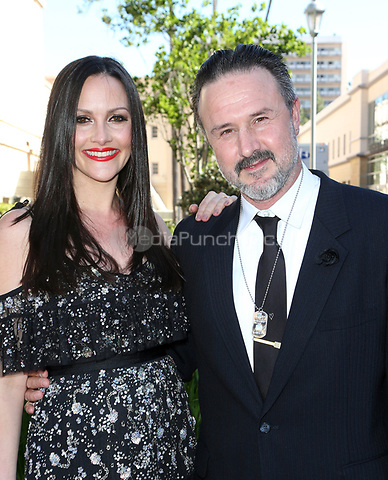 PASADENA, CA - April 30: David Arquette, Christina McLarty, At 44th Annual Daytime Emmy Awards Roaming At The Pasadena Civic Auditorium In California on April 30, 2017. Credit: FS/MediaPunch