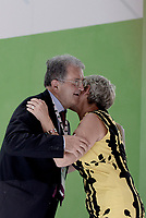 Roma, 29 Giugno 2017<br /> Annamaria Furlan e Romano Prodi<br /> Palazzo dei Congressi<br /> XVIII Congresso confederale CISL