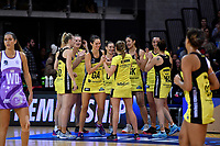 Pulse' Ameliaranne Ekenasio the ANZ Premiership - Pulse v Stars at Te Rauparaha Arena, Porirua, New Zealand on Wednesday 3 April 2019. <br /> Photo by Masanori Udagawa. <br /> www.photowellington.photoshelter.com