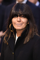 "LONDON, UK. April 29, 2019: Claudia Winkleman arriving for the ""TOLKIEN"" premiere at the Curzon Mayfair, London.<br /> Picture: Steve Vas/Featureflash"
