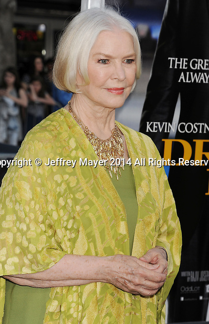 WESTWOOD, CA- APRIL 07: Actress Ellen Burstyn attends the Los Angeles premiere of 'Draft Day' at the Regency Village Theatre on April 7, 2014 in Westwood, California.