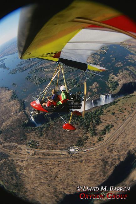 Ultra Light Flight Over Victoria Falls