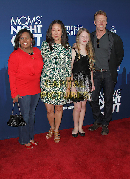 29 April 2014 - Hollywood, California - Chandra Wilson, Sarah Drew, Sandra Oh, Kevin McKidd. &quot;Moms' Night Out&quot; World Premiere held at the TCL Chinese Theatre.  <br /> CAP/ADM/FS<br /> &copy;Faye Sadou/AdMedia/Capital Pictures