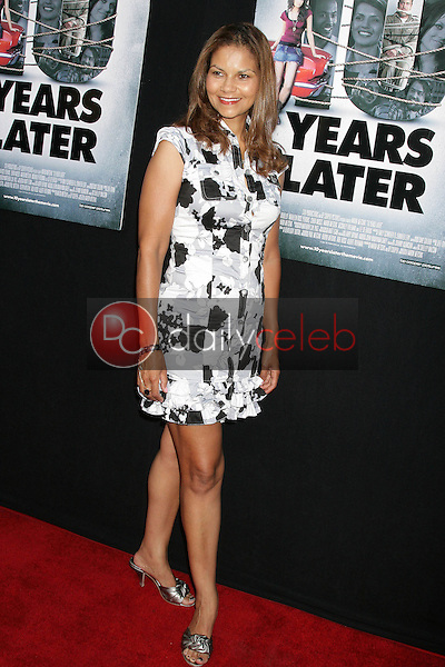 Juliette Fairley<br />at the Los Angeles Sneak Peek Screening of 'Ten Years Later'. Majestic Crest Theatre, Los Angeles, CA. 07-16-09<br />Dave Edwards/DailyCeleb.com 818-249-4998