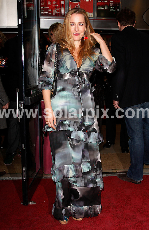 **ALL ROUND PICTURES FROM SOLARPIX.COM**.**WORLDWIDE SYNDICATION RIGHTS**.Premiere of Boogie Woogie - held at the Prince Charles Theatre in Leicester Square, London, UK. 13 April 2010..This pic: Gillian Anderson..JOB REF: 11078 LNJ     DATE: 13_04_2010.**MUST CREDIT SOLARPIX.COM OR DOUBLE FEE WILL BE CHARGED**.**MUST NOTIFY SOLARPIX OF ONLINE USAGE**.**CALL US ON: +34 952 811 768 or LOW RATE FROM UK 0844 617 7637**
