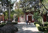 Parroquia San Sebastián Mártir, Chimalistac, Mexico City, Mexico