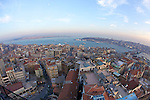 View Of Istanbul From The Galata Tower