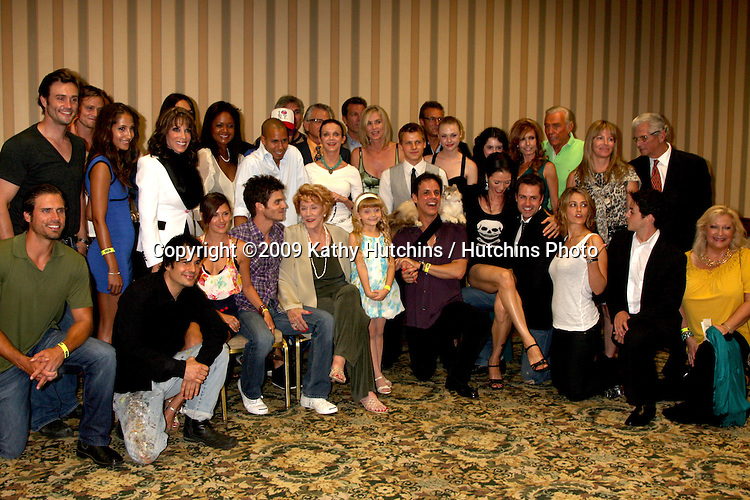 Young & restless Cast  at The Young & the Restless Fan Club Dinner  at the Sheraton Universal Hotel in  Los Angeles, CA on August 28, 2009.©2009 Kathy Hutchins / Hutchins Photo.
