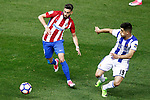 Atletico de Madrid's Yannick Ferreira Carrasco (l) and Real Sociedad's Yuri Berchiche during La Liga match. April 4,2017. (ALTERPHOTOS/Acero)