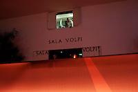 Venezia: sala di proiezione in una delle sale della mostra del cinema di Venezia