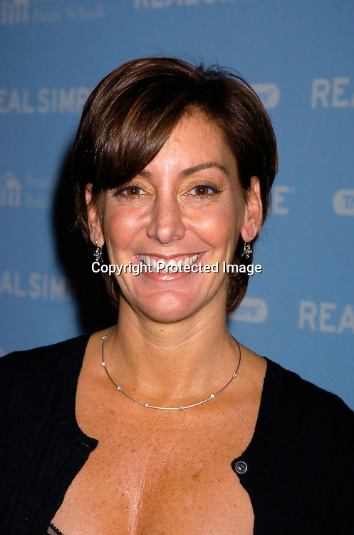 "Robin Domeniconi..at The Real simple Magazine's Get Organized New York"" ..Benefit Dinner on October 13, 2004 at Jazz at Lincoln Center . This event benefits The Fund for Public Schools...Photo by Robin Platzer, Twin Images"