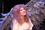 "Wendy Ishii, as The Angel, rehearses for the Bas Bleu Theatre Company's production of ""Angels In America Part II: Perestroika,"" October 19, 2004."
