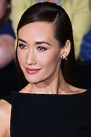 "WESTWOOD, LOS ANGELES, CA, USA - MARCH 18: Maggie Q at the World Premiere Of Summit Entertainment's ""Divergent"" held at the Regency Bruin Theatre on March 18, 2014 in Westwood, Los Angeles, California, United States. (Photo by David Acosta/Celebrity Monitor)"
