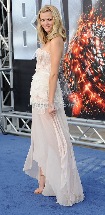 Brooklyn Decker at the the American Premiere of Battleship, held at Nokia Theatre L.A. LIVE Los Angeles, CA. May 10,  2012