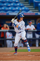 St. Lucie Mets Nick Meyer (26) during a Florida State League game against the Florida Fire Frogs on April 12, 2019 at First Data Field in St. Lucie, Florida.  Florida defeated St. Lucie 10-7.  (Mike Janes/Four Seam Images)