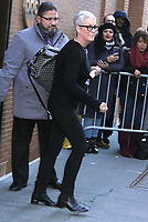 NOV 21 Jamie Lee Curtis Seen Exiting ABC's The View