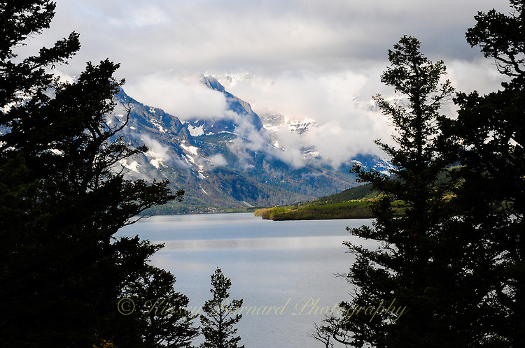 St. Mary Lake Glacier National Park as seen from the Blackfeet Reservation