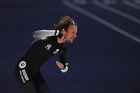 SPEEDSKATING: BERLIN: Sportforum Berlin, 27-01-2017, ISU World Cup, 1500m Men A Division, Peter Michael (NZL), ©photo Martin de Jong