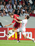 Daniel Schwaab, Mark Noble, The Final Germany-England, 06292009, U21 EURO 2009 in Sweden