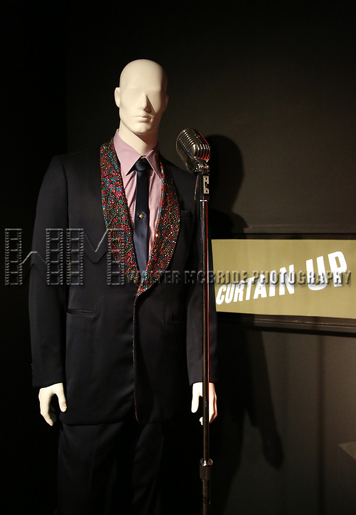 'Jersey Boys' Costume at Curtain Up: Celebrating the Last 40 Years of Theatre in New York and London Exhibition on June 14, 2017 at the New York Public Library for the Performing Arts at Lincoln Center.